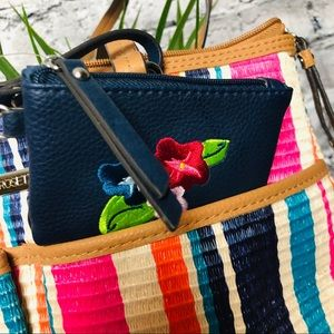 Rosetti Bags - Rosetti Striped Purse with matching Coin Purse